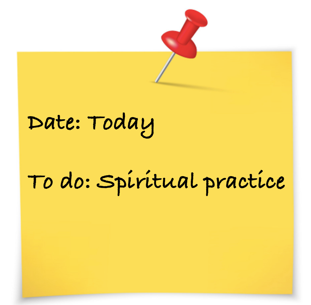 Sticky for spiritual practice